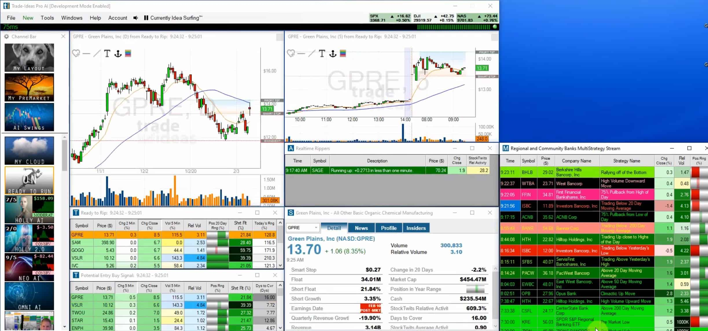 Trading ideas software