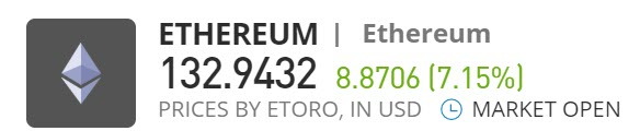 buy Ethereum eToro